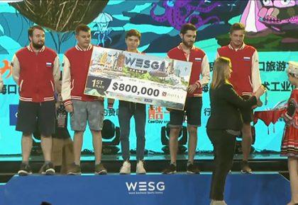 Россия завоевала чемпионство WESG 2017